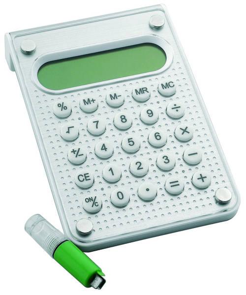 Metmaxx ecorechner design waterplus werbemittel online for Design tisch taschenrechner